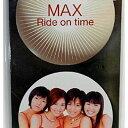 ブックサプライで買える「USED【送料無料】Ride on time [Audio CD] MAX; 松井五郎; 鈴木計見; 横山輝一; 星野靖彦 and カラオケ」の画像です。価格は250円になります。