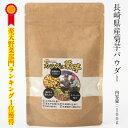【送料無料】菊芋パウダー/100g入り/長崎県産の無農薬で育てた菊芋をそのままパウダーに、お湯に溶か