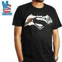 JUNK FOOD ジャンクフード バットマン VS スーパーマン プリント 半袖 Tシャツ メンズ