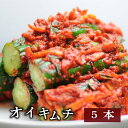 【手作り・無添加】オイキムチ(キュウリのキムチ)1/2本サイズ5本(500g)