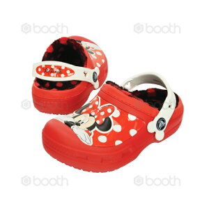 【SALE!!!】creative clog Minnie lined clog kids【クリエイティブ クロッグ ミニー ラインド クロッグ キッズ】◉クロックス正規取扱店なのでご安心ください◉