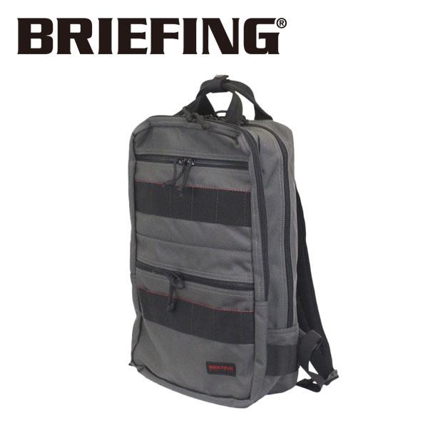 正規取扱店 BRIEFING (ブリーフィング) BRF298219-011 SQ PACK スクエア バックパック STEEL アメリカ製 BR472