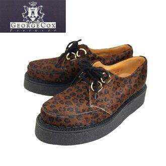 Japan domestic shipping COD fees free regular handling shop George Cox (George Cox) 8961 VI Saul D ring KID LEOPRD kid Leopard