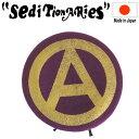 正規取扱店 SEDITIONARIES by 666 (セディショナリーズ) A-MARK BERET ベレー帽 ワイン 日本製 STA0013