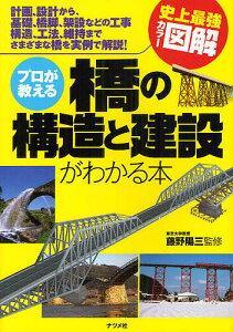 史上最強カラー図解プロが教える橋の構造と建設がわかる本 計画、設計から、基礎、橋脚、架設...
