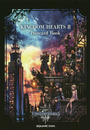 ゲーム, その他 KINGDOM HEARTS 3 Postcard Book3000