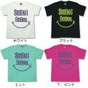 【メール便OK(1枚のみ)】【まとめ買割引・Tシャツフェスタ対象】【Smile/fst009】半袖 Tシャツ s/s S M L XL LL/ レゲエ・アメカジ・きれい目・ストリート/楽天カード分割