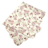 ローラマルチカバーLサイズ正方形約約190cm×190cmキルト薔薇ローズかわいいソファカバーこたつカバーマットベッドカバー