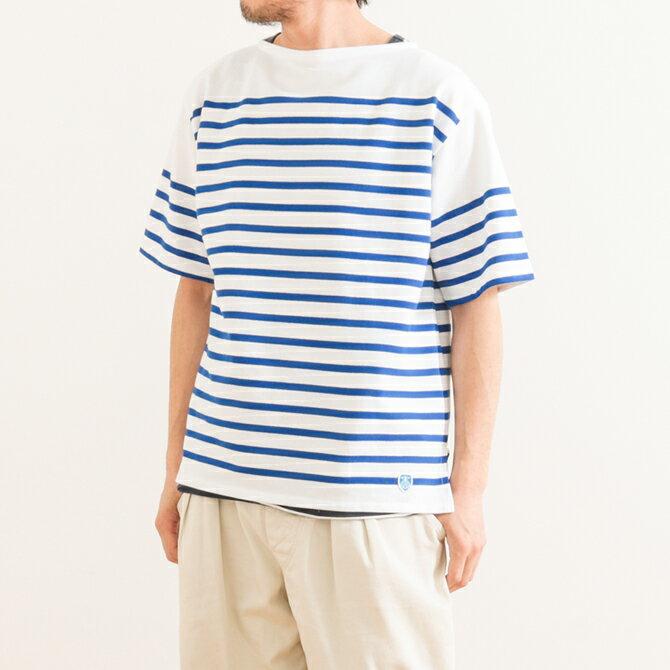オーシバル(ORCIVAL ) ラッセルボーダーTシャツ