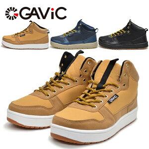 ガビック メンズ スノトレ 冬靴 冬 靴 スノーブーツ スノーシューズ スニーカー ハイカット 防滑 防水 ウインターシューズ GAViC GS2223 あす楽対応_北海道 BOS GAViC 在庫一掃