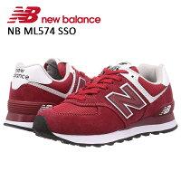 ニューバランスnewbalanceレディーススニーカー靴シューズメンズユニセックスライフスタイルカジュアルNBML574SSOSSPSKBあす楽対応_北海道BOS