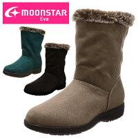 moonstar/ムーンスターEVE/イブ婦人靴レディースウインターシューズウインターブーツスノーブーツコンフォートシューズスノーシューズ幅広3E防滑防水あたたかいEVEWPL054あす楽対応_北海道BOS