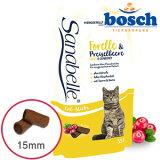 【bosch】【あす楽対応】ボッシュ・ザナベレ猫用おやつ キャットスティックス[マス&コケモモ](55g)