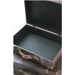 レザートランク2個セットLS-03■■COVENTGARDEN小物入れ収納ボックスBOXディスプレイオブジェケースおしゃれインテリア北欧アンティーク調コベントガーデンプレゼント