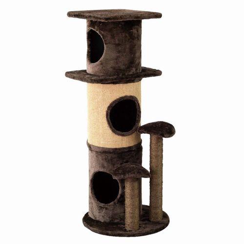 【HMLY4050】■PAW-PAW CAT TOWER【猫 ネコ ねこ キャットタワー ハウス トンネル 爪とぎ つめとぎ 遊具 ペット】