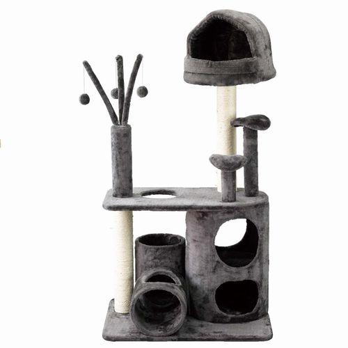 【HMLY4060】■PAW-PAW CAT PLAYGROUND【猫 ネコ ねこ キャットタワー ハウス トンネル 爪とぎ つめとぎ 遊具 ペット】
