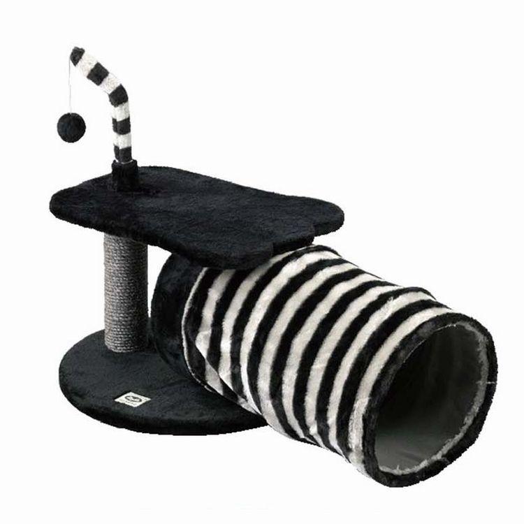 【HMLY4100】■PAW-PAW CAT TOY & LAIR【猫 ネコ ねこ キャットタワー ハウス トンネル 爪とぎ つめとぎ おもちゃ 遊具 ペット】