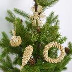 ストローソリディティオーナメントセットSNOWFLAKEW/ガラスJAR【106249】□【OR2】【ヒンメリストローオーナメントノルディックXmasXMASX'masクリスマスアレンジオブジェオーナメント北欧飾り装飾デコレーションクリスマス用品志成】