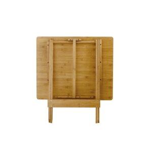 バカンスバンブーテーブルミドル【KJLF2080】バンブーテーブル折りたたみテーブル折りたたみテーブルサイドテーブル簡易テーブル簡易テーブル新品未使用木製テーブルアウトドアキャンプピクニック
