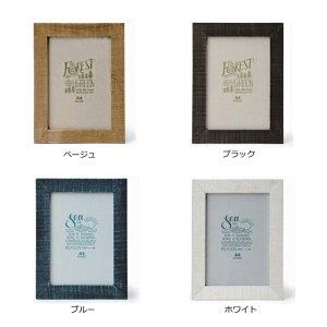 【POPHA4】□【OR2】ポプラウッドフォトフレームA4【額縁写真たて写真立てフォトフレーム4colorベージュブラックブルーホワイトプチプラキーストーンナチュラルシンプルA4】