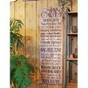 サインボード 木製 オブジェ おしゃれ WOOD MAN CAVE LONG 2123 □□ FR magnet インテリア ウォールデコ 壁掛け マンケイブ アートボード 天然木 男前 スマート 装飾 コレクション インスタ 雑貨 プレゼント