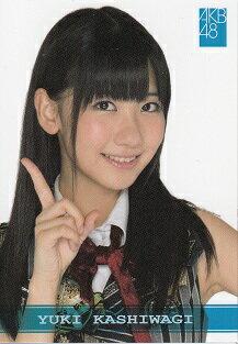 【メール便可能】【中古】 AKB48 AKB48 オフィシャルトレーディングカード データカード 柏木由紀