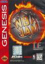 【中古】海外メガドライブ・海外ジェネシス NBA JAM
