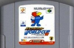 【中古】 N64 実況ワールドサッカー WORLD CUP FRANCE'98 (ソフト単品)
