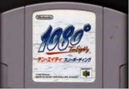 【中古】 N64 テン・エイティ スノーボーディング(ソフト単品)