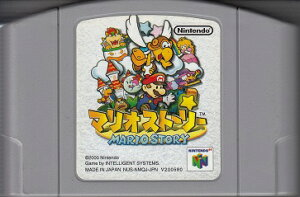 【メール便可能】【中古】 N64 マリオストーリー(ソフト単品)