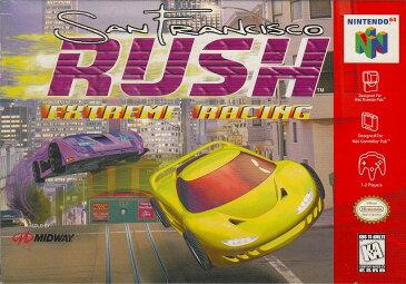 【中古】 N64 北米版 SAN FRANCISCO RUSH EXTREME RACING