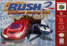【中古】 N64 北米版 RUSH 2 EXTREME RACING USA