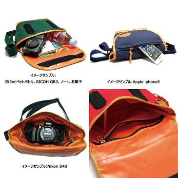 ショルダーバッグ ミニ カメラバッグ 日本製 MOUTH マウス Delicious Tiny mark-1 デリシャス タイニーマークワン MJS12026 RED レッド