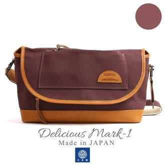 MOUTH Delicious mark-1 ショルダーバッグ マウス デリシャスマーク1 MJS11019 AZUKI 日本製[fs01gm]