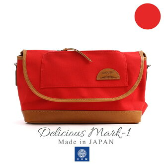 MOUTH Delicious mark-1 ショルダーバッグ マウス デリシャスマーク1 MJS11019 RED 日本製[fs01gm]