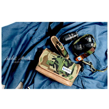 MOUTHカメラバッグ一眼レフミラーレス一眼女子おしゃれカメラバックマウスミニショルダーバッグボディバッグレンズ2本BUCKETMOUTHバケットマウスMSB09112インナーケースセット