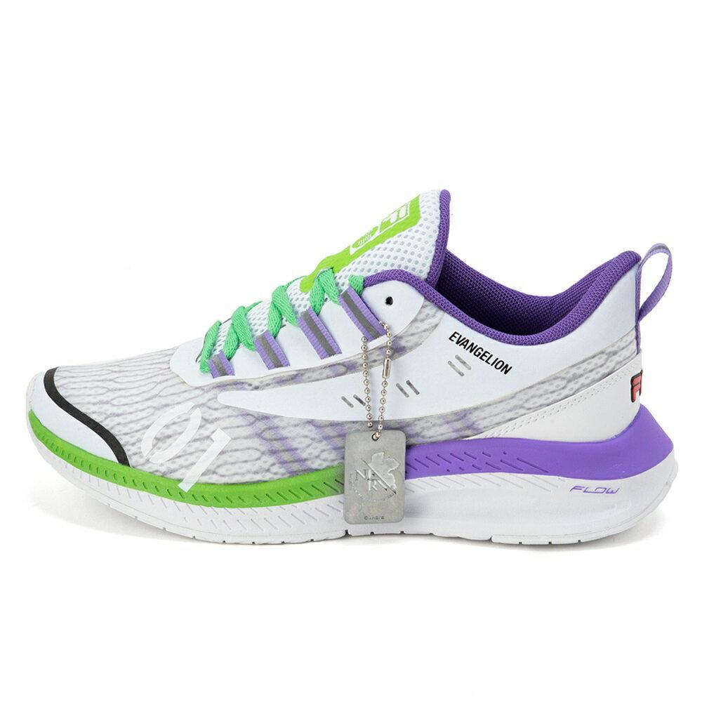 メンズ靴, スニーカー  FILA WAVELET ALPHA EVANGELION LIMITED WHITEBLUELIME UFW20012-148