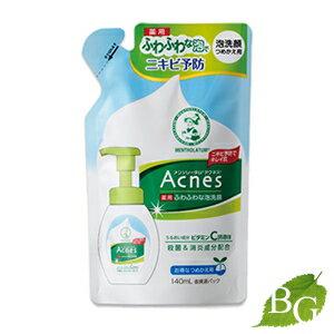 ロート製薬メンソレータムアクネス薬用ふわふわな泡洗顔140mL詰替え用