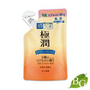 ロート製薬肌研(ハダラボ)極潤プレミアムヒアルロン乳液140mL詰替え用