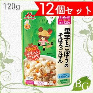森永乳業 大満足ごはん 里芋とごぼうのそぼろごはん 120g×12個セット