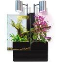 【送料無料】ブリオ brio 水槽 フルセット ブラック 西日本60Hz 家庭用 アクアポニックス brio35 植物 魚