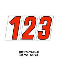 【プライスボード用数字】SK-72・SK-73用数字バラ【メール便発送に限り送料無料】
