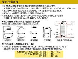 【2個から販売】Tb210焼肉9号長型24×60cm左右文字入店舗向け提灯【ちょうちん】