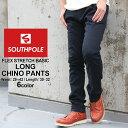 SOUTH POLE サウスポール チノパン メンズ スリム ストレッチ チノパン メンズ 大きいサイズ メンズ パンツ ボトムス (USAモデル)