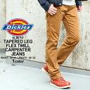 【送料299円】 ディッキーズ Dickies ディッキーズ ペインターパンツ メンズ X-Series FLEX Slim Fit Tapered Leg Twill Carpenter Pants [Dickies ディッキーズ ペインターパンツ メンズ ストレッチ フレックス テーパードパンツ スリム 大きいサイズ メンズ] (USAモデル)