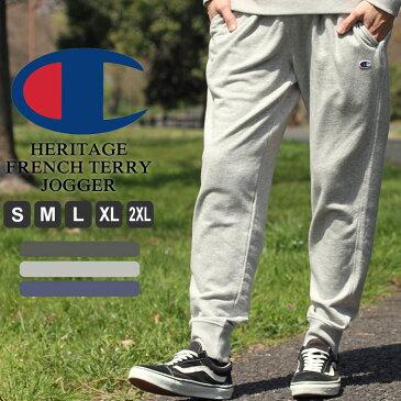 チャンピオン スウェットパンツ 薄手 メンズ 大きいサイズ USAモデル|ブランド ジョガーパンツ ロゴ アメカジ ルームウェア