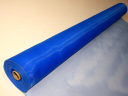 送料込み PE防虫網16メッシュ910mm巾30m巻ブルー1本入り