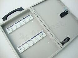 キーボックス(壁付け・携帯兼用)10本用マグネット付[GKB-10A-M]-ガードロック(GUARD)