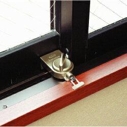 マモレックスウインドサッシ窓用補助錠シルバー[No.510S]-ガードロック(GUARD)