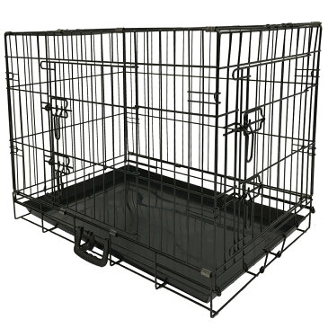 【ポイント2倍】ペット 折り畳み ケージ ペットケージペットゲージ 犬用 大型犬 中型犬 GY07-L[8004]-SIS ペットサークル ペットゲート ケージ 小屋 サークル ゲージ